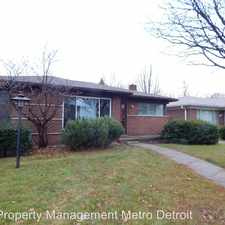 Rental info for 16414 Lincoln Ave