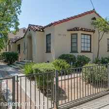 Rental info for 1365 N Mentor Ave in the Pasadena area