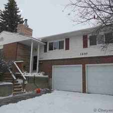 Rental info for 1230 Rosebud Rd Cheyenne Three BR, Amazing home in the very in the Cheyenne area