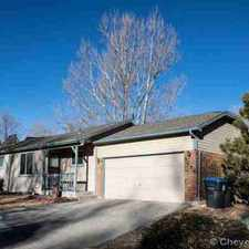 Rental info for 5268 Fishing Bridge Cheyenne Two BR, Fantastic starter home or in the Cheyenne area