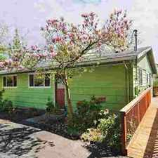 Rental info for 2932 26th Ave W Seattle Four BR, Mid-century home set at the end