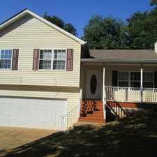 Rental info for House For Rent In Silver Creek. Single Car Garage!