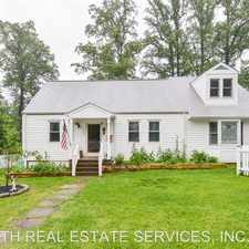 Rental info for 4023 POPLAR ST in the Fairfax area