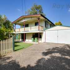 Rental info for Massive Four Bedroom Home With Multiple Living Areas and Solar in the Leichhardt area