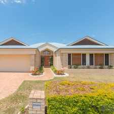 Rental info for Large family home. in the Mango Hill area