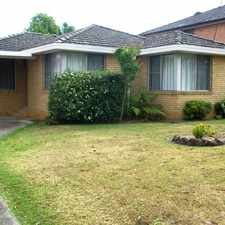 Rental info for LEASED - MATTHEW PEARCE PRIMARY SCHOOL CATCHMENT - 3 BEDROOM HOME in the Sydney area