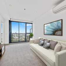 Rental info for MODERN TWO BEDROOM APARTMENT WITH VIEWS TO THE BAY in the Southbank area