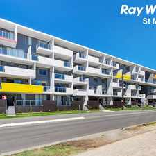 Rental info for BRAND NEW Unique Split Level Apartment - Walk to Shopping Centre and Train Station