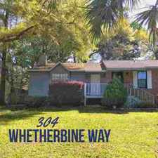 Rental info for 304 E Whetherbine Way Tallahassee Three BR, Unique town home in