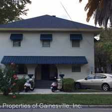 Rental info for 102 NW 15th Street & 1508 NW 1st Lane in the 32605 area