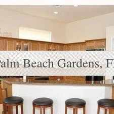Rental info for House For Rent In Palm Beach Gardens. in the Palm Beach Gardens area