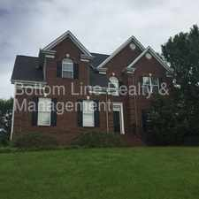 Rental info for Beautiful Two Story 4 Bedroom Home with 2 Car Garage in the Charlotte area