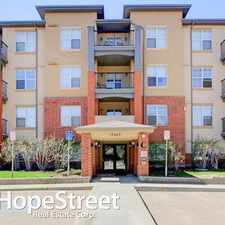 Rental info for 11449 Ellerslie Road SW - 1 Bedroom Apartment for Rent in the Rutherford area