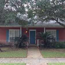 Rental info for AM 2560 Fairham Dr in the Baton Rouge area