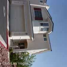 Rental info for 276 Green Peace in the Henderson area
