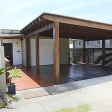 Rental info for Modern home with 2 decks and a view!