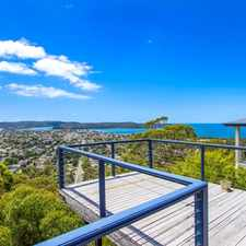 Rental info for Views As Far As The Eye Can See in the Umina Beach area