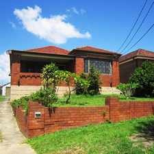 Rental info for Big Home, Perfect Location in the Sydney area