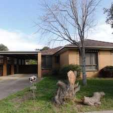 Rental info for Relaxation At Your Doorstep in the Werribee area