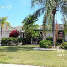 Rental info for 330 Belvedere Ct in the Punta Gorda area