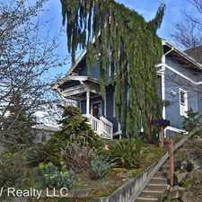 Rental info for 1816 11th Ave W in the West Queen Anne area