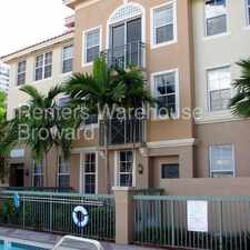 Rental info for Upscale 3/2.5 with TONS of Amenities in the Hallandale Beach area
