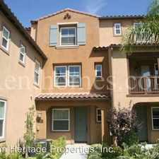 Rental info for 17058-3 Calle Trevino in the San Diego area