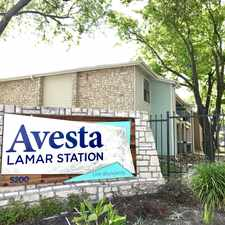 Rental info for Avesta Lamar Station