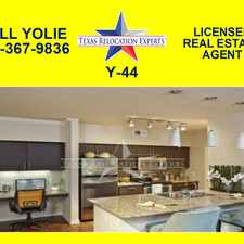Rental info for Military Drive W
