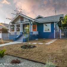 Rental info for 6119 Tipton Way. - Front House in the Eagle Rock area