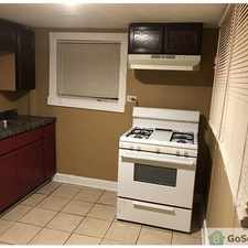 Rental info for GARDEN BASEMENT APARTMENT in the Chicago area