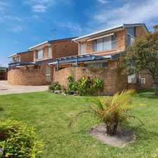 Rental info for Great Townhouse In The Heart Of Forster in the Forster - Tuncurry area