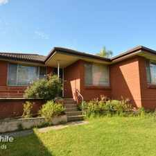 Rental info for SPACIOUS 3-BEDROOM HOUSE in the Pemulwuy area