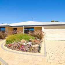 Rental info for ONE WEEK FREE RENT! Perfect family home in Meadow Springs in the Perth area