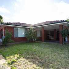 Rental info for Tidy Duplex in Sought After Area in the Perth area