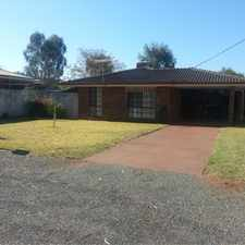 Rental info for PERFECT ON PICCADILLY in the Kalgoorlie area