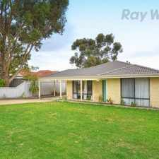 Rental info for Lots of Room for all your Big Kids Toys in the Lockyer area