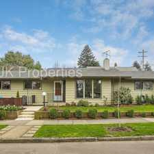 Rental info for 5230 Southeast 37th Avenue in the Reed area