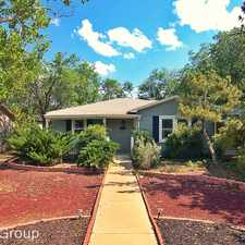 Rental info for 3015 47th Street in the Lubbock area