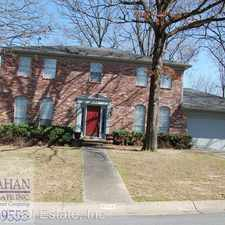 Rental info for 5104 Burrow Drive in the Sherwood area