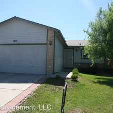 Rental info for 2141 Bent Tree Lane in the Fountain area