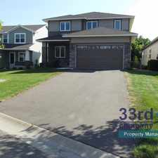 Rental info for 17765 69th Place North in the Maple Grove area