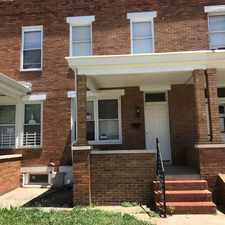 Rental info for 2836 Lake Avenue in the Baltimore area