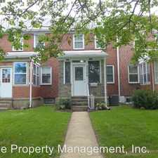Rental info for 3549 McShane Way in the 21222 area