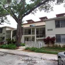 Rental info for 524 Bay St NE #4 in the St. Petersburg area