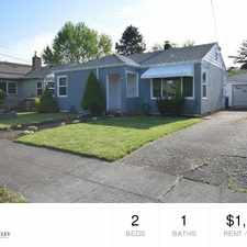 Rental info for 4334 SE 74th Ave in the Foster-Powell area