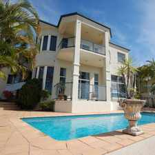Rental info for NORTH TO WATER - SOVEREIGN ISLAND in the Gold Coast area