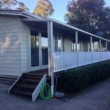 Rental info for HUGE ROOMS, LOW MAINTENANCE, LIKE NEW! in the Cessnock area