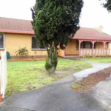 Rental info for 4 BR IN QUIET COURT in the Traralgon area