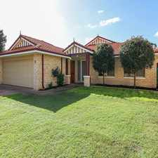 Rental info for LARGE MODERN HOME IN CENTRAL LOCATION in the Perth area